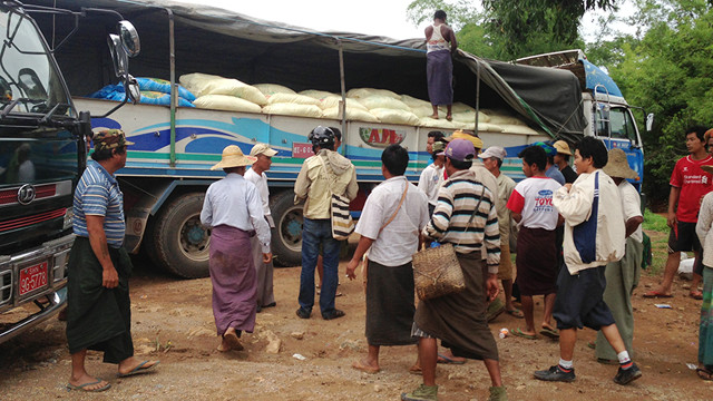 Distribution network for marginalized areas in Myanmar